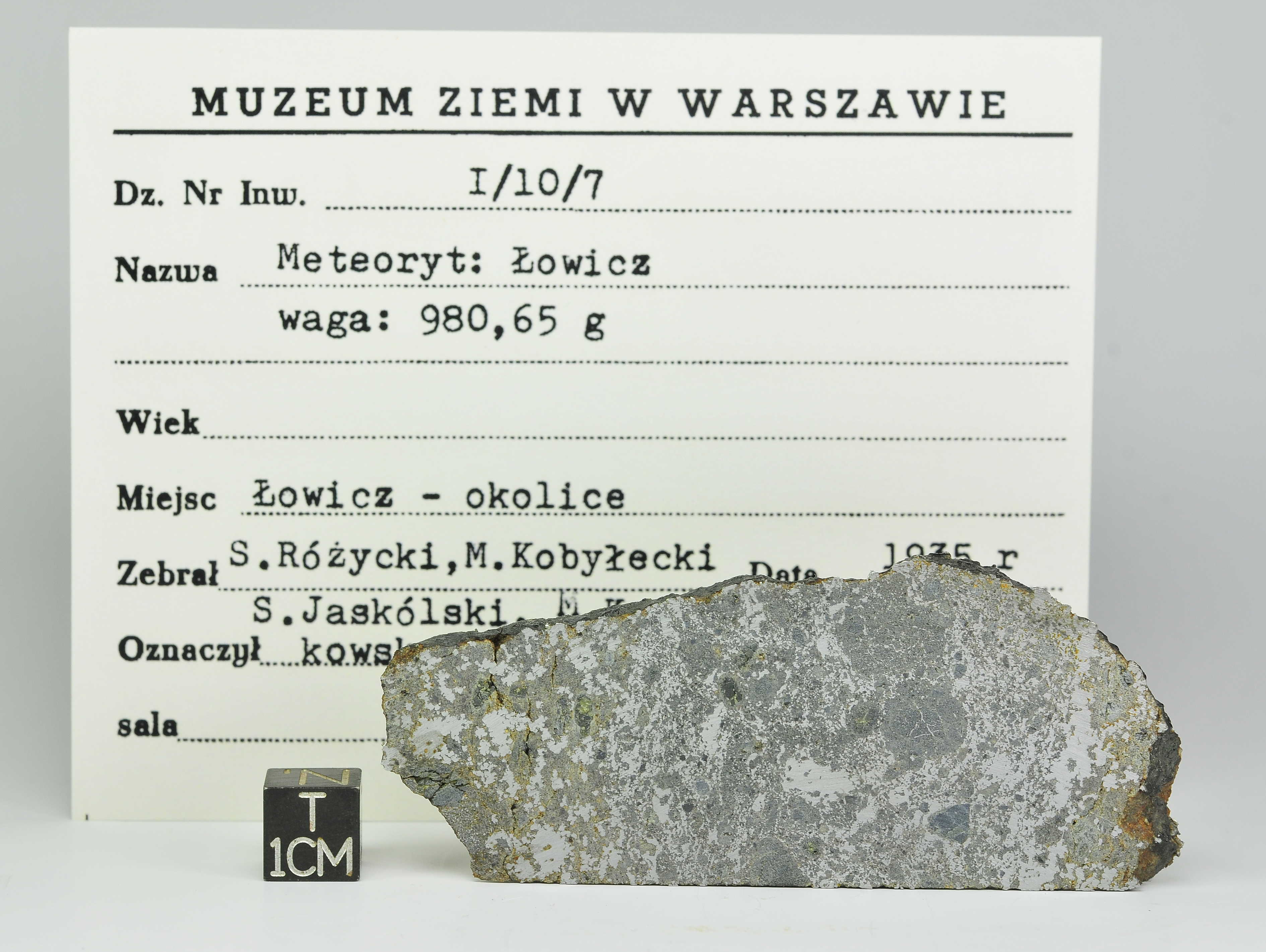 Lowicz MES 31.5g Museum Label (1)