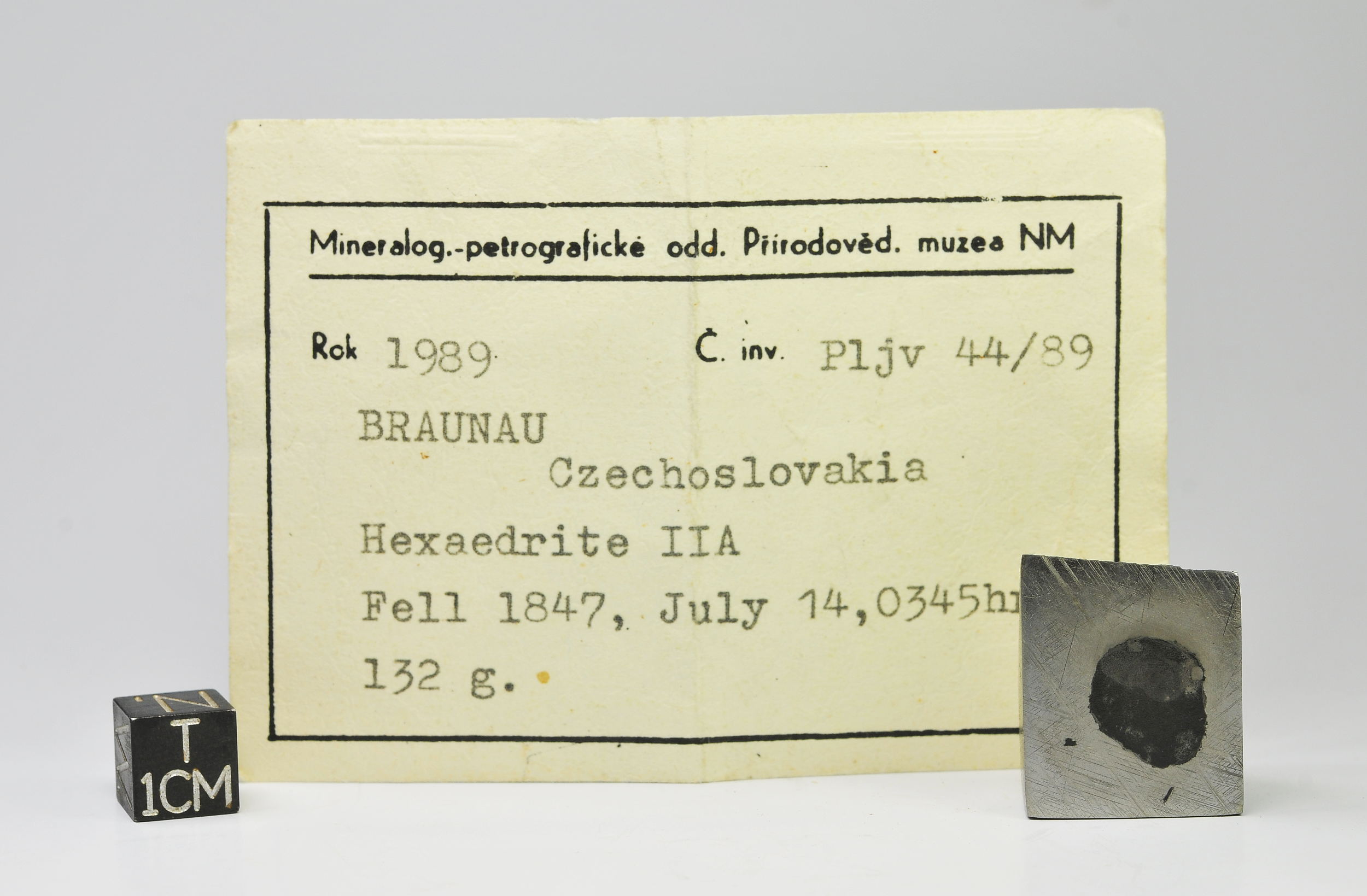 Braunau HEX 29g Prague label